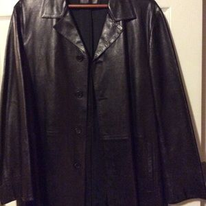 Men's Prada leather jacket